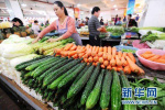 上周河北省肉蛋菜价格环比基本持平
