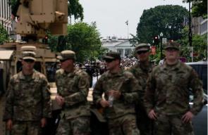 美媒:负责维持秩序的多名国民警卫队士兵确诊新冠肺炎