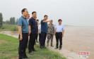 开封示范区党工委书记汤超带队调研黄河防汛工作