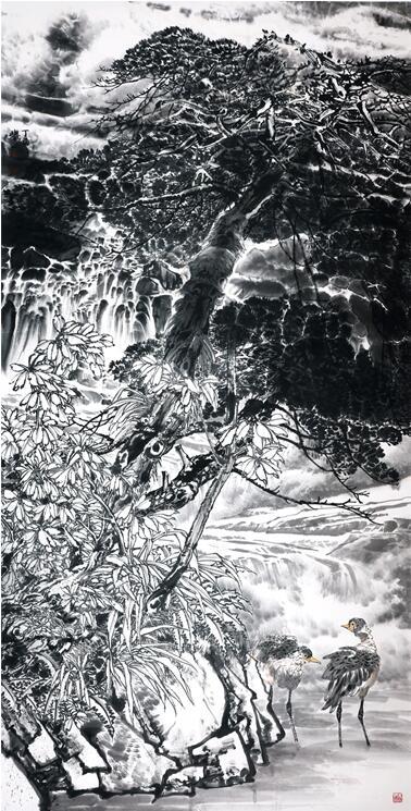 林清泉韵 120x240cm图片