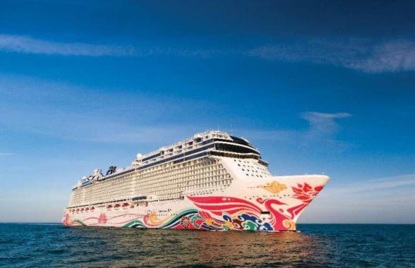 亚太地区最大邮轮在青岛开启全球首航 尽享奢华