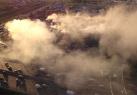 莫斯科一商場發生大型火災