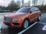 2017款欧规宾利添越6.0T W12火焰橙现车