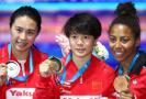 女子3米板施廷懋轻松卫冕 中国实现九连冠