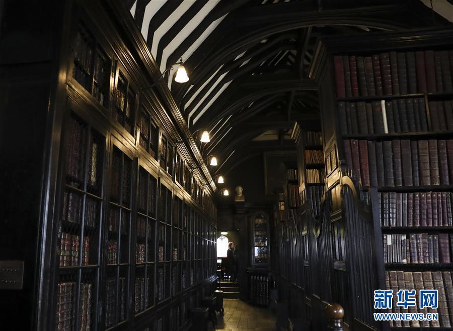 探访切塔姆图书馆