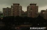 今年首个强对流天气昨晚袭京 白天空气质量为中度污染