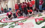 意大利刮起中国风 大外师生8幅作品入选意大利诺托市第39届鲜花节