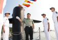 Xi stresses building elite maritime force during navy inspection