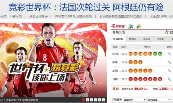 World Cup lottery apps halt bets