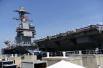 """美海军军官自称其航母""""不好惹"""" 能够应对任何威胁"""