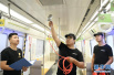 """车厢内空气清新原来是因为有它!北京地铁6号线涂""""光触媒""""除车厢异味"""