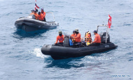 Five missing from ship sinkings believed safe