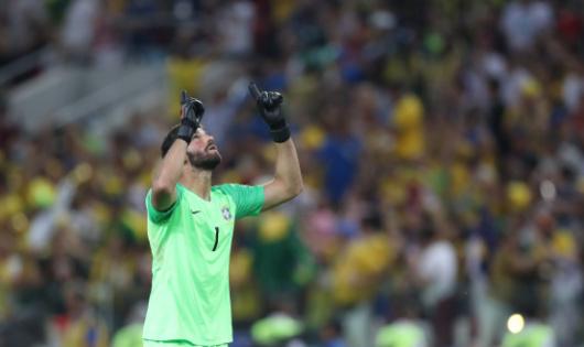 巴西國門阿利松加盟利物浦 成世界身價最高門將