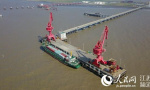 江苏洋口港至上海港集装箱班轮开航 填补海运空白