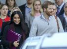 结婚不足半年英王妃梅根怀孕了?用文件夹挡腹部 网友沸腾了