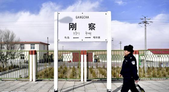 青海湖畔一个人的警务区