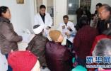 青县为优抚对象及老兵进行身体健康检查