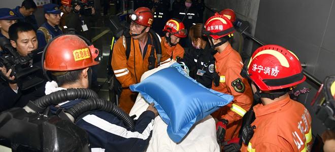 山能肥矿集团梁宝寺煤矿事故被困人员全部获救