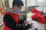 """洛阳西工区:零零后抗""""疫"""" 一线显担当"""
