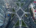 商城縣北轉盤升級改造工程告竣 變身新地標