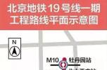 纵贯南北的北京地铁19号线全面施工!10座车站8座能换乘